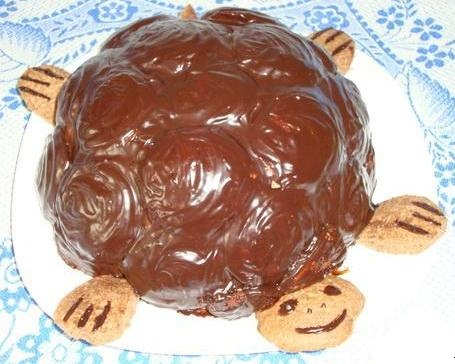 Рецепт торта черепахи