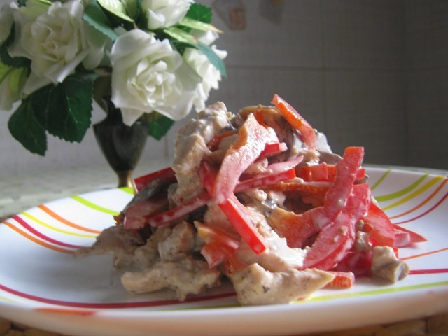 салат москва